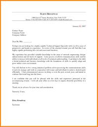 Sample Cover Letter Technical Gallery Letter Samples Format