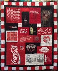 58 best Theme T-shirt Quilts images on Pinterest | Shirt quilts ... & Coca-Cola T-shirt Quilt https://www.toocooltshirtquilts.com Adamdwight.com