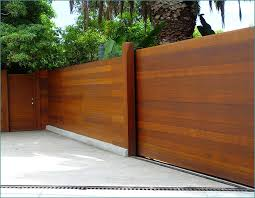 Modern Horizontal Fence Panels Peiranos Fences Different Woven