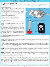 multi code garage door opener programming inspirational tid372r2 garage door opener w rf light kit user manual 03
