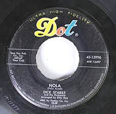 dick stabile - dick stabile 45 RPM nola / mack the knife - Amazon.com Music