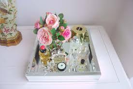 mirror tray for perfume silver perfume tray vanity tray
