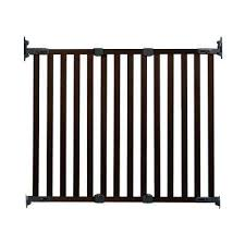 h hardware mount gate angle mount wood safeway wall mounted gate in espresso