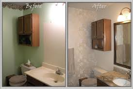 Confortable before and after Small Bathroom Makeovers About Diy ...