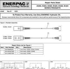 enerpac ic 200 ic 224 ic 300 ic 324 ic 400 ic 424 enerpac ic series wiring diagram