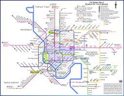 finally, a (mostly) accurate map of bangkok's transit future Bts Map 2017 click to embiggen! bts map 2017 bangkok