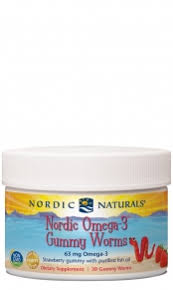 <b>Nordic Omega-3 Gummy Worms</b>