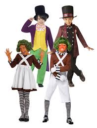 charlie the chocolate factory kids fancy dress book