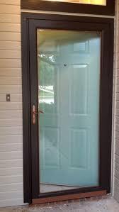 Decorating fixing screen door images : Front Door Screen And Glass | Exterior Doors and Screen Doors