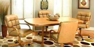 orange dining room chairs rolling dining chairs dining room chairs with casters dining chairs casters dining