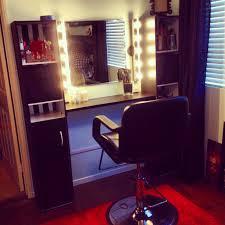 megan s diy vanity lights makeup bench home salon more