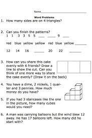 printable second grade math word problem worksheets nelson 2 ...