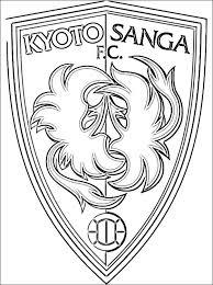 Kyoto Sanga Fc Kleurplaten Logo Gratis Kleurplaten