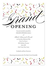 Grand Opening Invitations Trendy Opening Corporate Invitations By Invitation