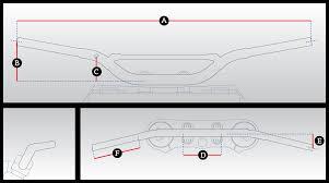 Renthal Worksfit Handlebar Comparison Tool