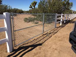 chain link fence rolling gate parts. Ranch Style Vinyl Gates Hesperia Chain Link Fence Rolling Gate Parts