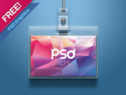 Psd Download Id Card Mockup Psd Free By Psd Graphics Dribbble Dribbble