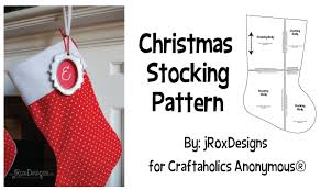 Christmas Stocking Sewing Pattern Classy Craftaholics Anonymous Free Christmas Stocking Pattern And Tutorial