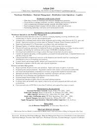 Special Warehouse Manager Worker Resume Bunch Ideas Of Warehouse