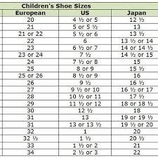 Children S Shoe Size Conversion Chart Mexico To Us Shoe Size Chart Mexico To Usa Www Bedowntowndaytona Com