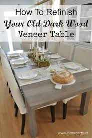Dining Table In Kitchen 25 Best Ideas About Dark Wood Dining Table On Pinterest Dark