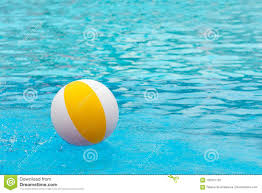 swimming pool beach ball background. Perfect Swimming Beach Ball Floating In A Blue Swimming Pool Summer Background On Swimming Pool Ball Background