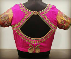 South Indian Blouse Neck Design Pin By Kesavan On Bridal Blouse Blouse Neck Designs Best