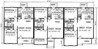 5BedroomQuadplexTownhouse2700SqFt Floor Plan Of Maple Dubai Quadplex Plans