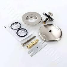 shower trim kit brushed nickel one hole tub drain trim kit tub shower trim kit brushed