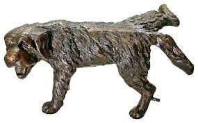 bronze garden statues. bronze garden sculptures cranes statues naughty puppy dog cast statue traditional