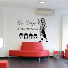 hair cut hair design beauty salon vinyl
