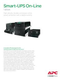 "apc surt 4 a versatile ups developed for the harshest power conditions in the world smart upsâ""¢"