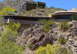 frank lloyd wright outdoor lighting. clerestory windows cast indirect lighting into the living room frank lloyd wright formed home around rock outcropping he wanted to preserve outdoor