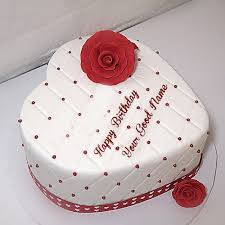 1460300394_57399946 beautiful heart shaped birthday name cakes with red rose pics on heart shaped birthday cake images free download
