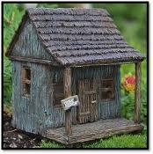 fairy garden castle. Fairy Wharf/Cabin With Swinging Door For Miniature Gardens Garden Castle