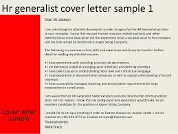 Hr Generalist Cover Letter Ideas Collection Cover Letter Human