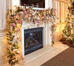 ... Christmas Banister Decoration Amazing Ways To Spread Pink Decor  Throughout Your Home Garland Banister Banquette Christmas ...