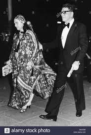 Burt Lancaster actor with friend Vicki Pierson 1976 arriving at ...