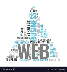 Concept Words For Design Web Marketing Word Cloud Bussiness Concept