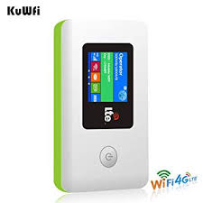 KuWFi 4G LTE Travel Router 100Mbps Mobile WiFi ... - Amazon.com