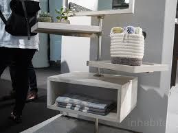 Modular Wall Storage Modular Amuneal Shelves Create Flexible Wall Storage For Tight