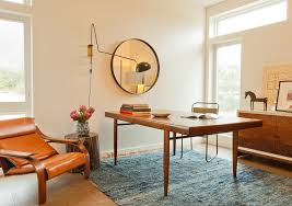 area rug in office beautiful midcentury home office pictures home office modern with