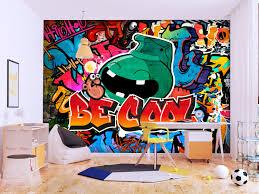 wall mural be cool street art wall
