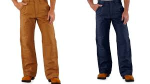 Carhartt Mens Canvas Insulated Work Pants Quilt Lined Flame ... & Carhartt Mens Canvas Insulated Work Pants Quilt Lined Flame Resistant Frb194 Adamdwight.com