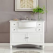 45 inch bathroom vanity amazing silkroad exclusive contemporary single intended for 18 t