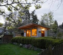 Micro Guest Cottage with a Green Roof.