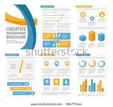 presentation charts and graphs vector template for multipurpose presentation slides with graphs and