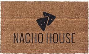 Vinyl Back Doormat | Nacho House | Coir Doormat | Funny Doormat ...
