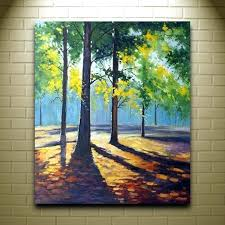 acrylic landscape painting on canvas easy acrylic canvas painting ideas for beginners landscape paintings on canvas for