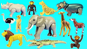 african animals toys. Plain Animals Playmobil African Safari Toy Wild Animals Watering Hole Building Set For  Kids  YouTube With Toys